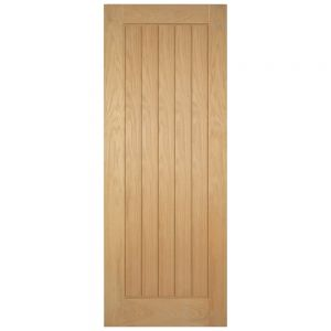 Image for Cotswold Oak Internal FD30 Cottage Fire Door Unfinished