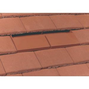 Klober Uni-Plain Tile Vent - Brown