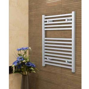 Image for Essential Todi Square Bar Towel Rail, 1700mm High x 500mm Wide, Chrome