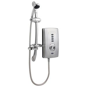 Image for Ultra Chic 650 Slimline Electric Shower - 10.5kW - Chrome