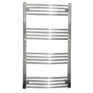 Image for Reina Capo Curved Thermostatic Electric Heated Towel Rail Chrome