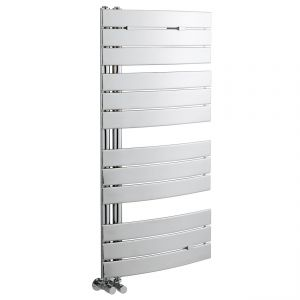 Image for Hudson Reed Elgin Designer Heated Towel Rail 1080mm H x 550mm W Chrome