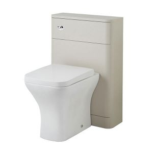 Image for Hudson Reed Sarenna Back-to-Wall WC Unit - 552mm Wide - Cashmere