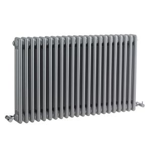 Image for Ultra Colosseum 3-Column Radiator 600mm H x 1011mm W H Gloss Silver