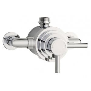 Image for Hudson Reed Tec Dual Exposed Shower Valve Dual Handle - Chrome