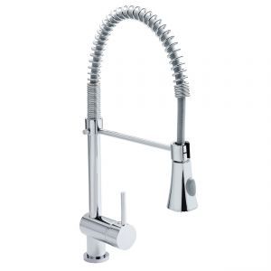 Image for Ultra Modern Kitchen Sink Mixer Tap Single Handle - Chrome