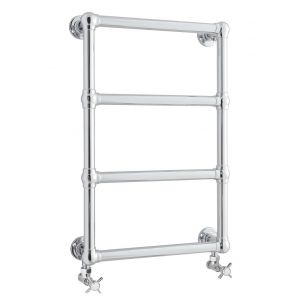 Image for Hudson Reed Epsom Heated Towel Rail 750mm H x 475mm W Chrome
