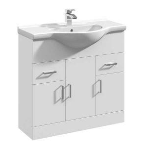 Image for Premier Mayford Bathroom Vanity Unit with Basin 850mm Wide - 1 Tap Hole