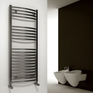 Image for Reina Diva Thermostatic Electric Straight Heated Towel Rail Chrome