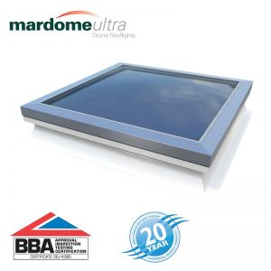 Image for Mardome Ultra Double Skin Fixed Rooflight in Clear