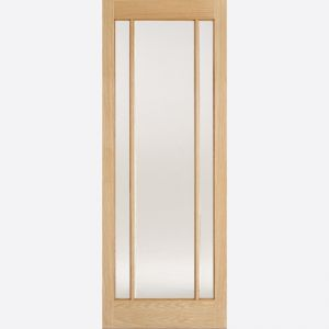 Image for LPD Lincoln Oak Glazed Internal Door