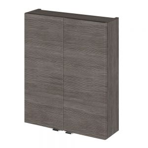 Image For Hudson Reed 500x182mm Grey Avola Fitted Wall Unit