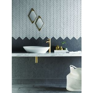 Image for Verona Izen Matt Black Glazed Porcelain Wall & Floor Tile (6 Per Box) - 600x300mm