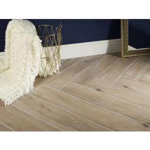 Image for Verona Galloway Matt Beige Glazed Porcelain Wall & Floor Tile (8 Per Box) - 150x900mm
