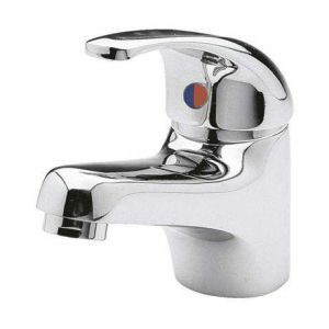 Image For Ultra Eon Single Lever Mono Basin Mixer Tap with Waste