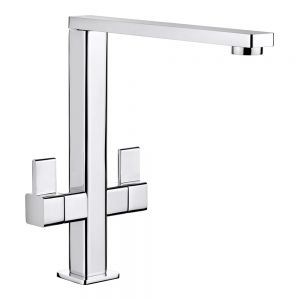 Image for Rangemaster Metrix Monobloc Kitchen Sink Mixer Tap - Brushed Chrome
