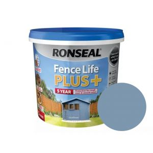 Image For Ronseal Fence Life Plus+ - Cornflower - 5L