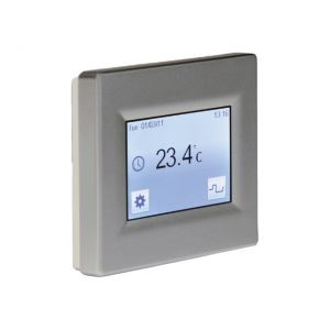 Image for Underfloor Heating Thermostat Touchscreen Silver (16A)