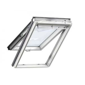 Image for Velux Multi-Window Roof Bundle 3 White Painted Top Hung Roof Windows and Insulated Tile Flashing - 114 x 118cm