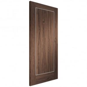 Image for XL Joinery Varese Pre-Finished Internal Walnut Fire Door