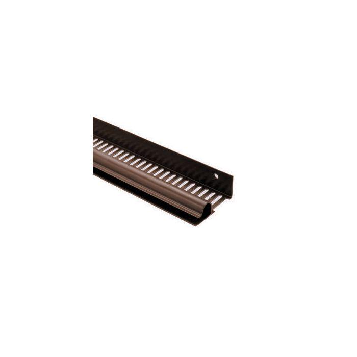 Corovent Continuous Soffit Vent Strip Brown 2 4m