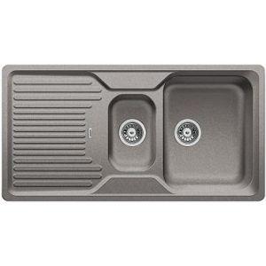 Image for BLANCO Kitchen Sink & Tap Pack Classic 6 S Silgranit® Reversible - Alu Metallic