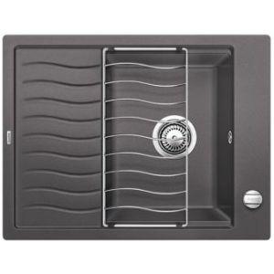Image for BLANCO Kitchen Sink & Tap Pack Elon 45 S Silgranit® Puradur® - Rock Grey
