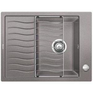 Image for BLANCO Kitchen Sink & Tap Pack Elon 45 S Silgranit® Puradur® - Alu Metallic