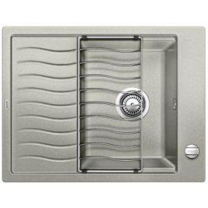 Image for BLANCO Kitchen Sink Elon 45 S Silgranit® Puradur® - Pearl Grey