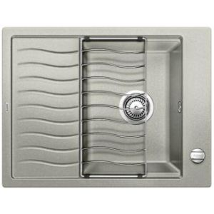 Image for BLANCO Kitchen Sink & Tap Pack Elon 45 S Silgranit® Puradur® - Pearl Grey