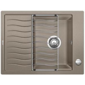 Image for BLANCO Kitchen Sink & Tap Pack Elon 45 S Silgranit® Puradur® - Tartufo