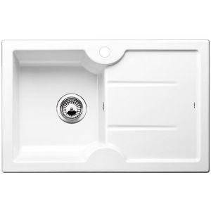 Image for Blanco IDESSA 45 S Ceramic Kitchen Sink Crystal White Glossy Bowl Left BL467507