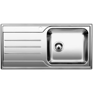 Image for BLANCO MEDIAN XL 6 S Stainless Steel Kitchen Sink & Tap Pack Left Hand Bowl
