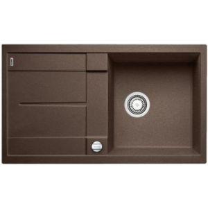 Image for BLANCO Kitchen Sink Metra 5 S Silgranit® Puradur® - Coffee