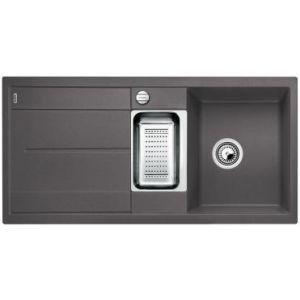 Image for BLANCO Kitchen Sink & Tap Pack Metra 6 S Silgranit® Puradur® - Rock Grey