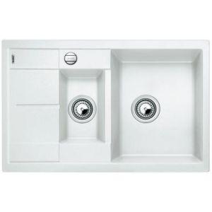 Image for BLANCO Kitchen Sink Metra 6 S Compact  Silgranit® Puradur®  With Pop-Up Waste - White