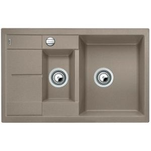 Image for BLANCO Kitchen Sink Metra 6 S Compact  Silgranit® Puradur®  With Pop-Up Waste - Tartufo