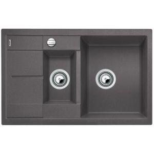 Image for BLANCO Kitchen Sink Metra 6 S Compact  Silgranit® Puradur®  With Pop-Up Waste - Rock Grey
