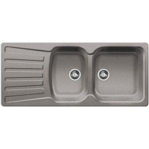 Image for BLANCO Kitchen Sink Nova 8 S  Silgranit®  Reversible - Alu Metallic