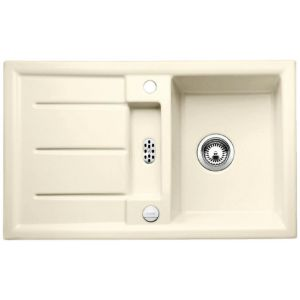 Image for Blanco PRION 45 S Ceramic Kitchen Sink Magnolia Glossy Reversible BL467547