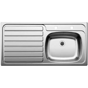 Image for STANDARD 10 X 5 (rectangular overflow) Stainless Steel Kitchen Sink Left Hand Bowl BL453061