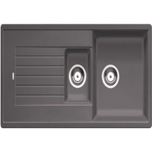 Image for BLANCO Kitchen Sink Zia 6 S Silgranit® Puradur® Reversible - Rock Grey