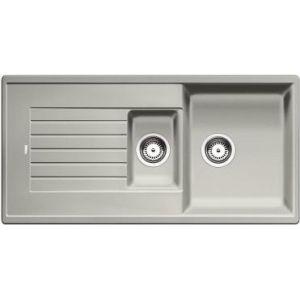 Image for BLANCO Kitchen Sink Zia 6 S Silgranit® Puradur® Reversible - Pearl Grey