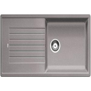 Image for BLANCO Kitchen Sink & Tap Pack Zia Xl 6 S Silgranit® Puradur® Reversible - Alu Metallic