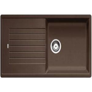 Image for BLANCO Kitchen Sink & Tap Pack Zia Xl 6 S Silgranit® Puradur® Reversible - Coffee
