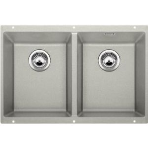 Image for BLANCO Kitchen Sink Subline 350/350-U Silgranit® Puradur®  - Pearl Grey