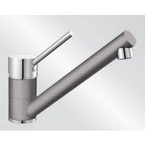 Image for Blanco Kitchen Mixer Tap Peak Silgranit ® Look Dual Finish High Pressure - Alumetallic / Chrome