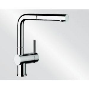 Image for Blanco Kitchen Mixer Tap Linus-S Metallic Surface High Pressure - Chrome