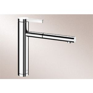 Image for Blanco Kitchen Mixer Tap Linee-S Metallic Surface High Pressure - Chrome