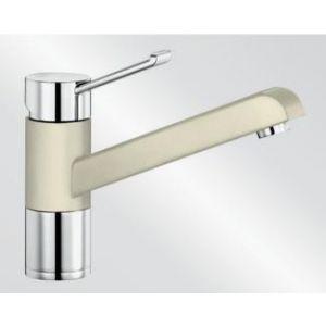 Image for Blanco Kitchen Mixer Tap Zenos Silgranit ® Look Dual Finish High Pressure - Jasmin / Chrome